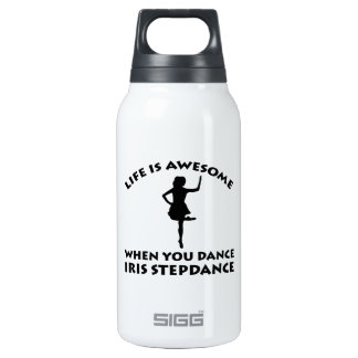 irish stepdance dance insulated water bottle