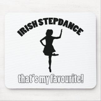irish stepdance designs mouse pad