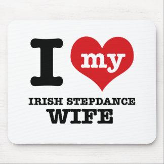irish stepdance wife mouse pad