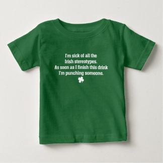 Irish stereotypes tee shirt