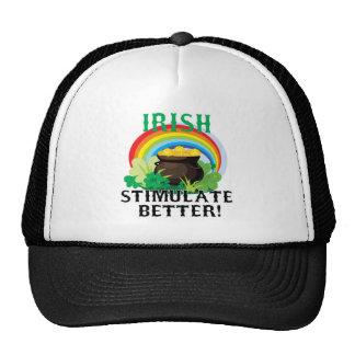 Irish Stimulate Better Trucker Hat