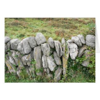 Irish Stone Wall C1 Card