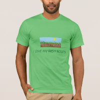 IRISH  STPATRICK  TSHIRT