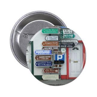 Irish Street Signs Pins