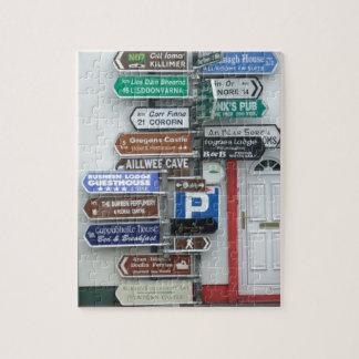 Irish Street Signs Jigsaw Puzzle