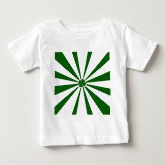 Irish Stripe Shamrock Baby T-Shirt