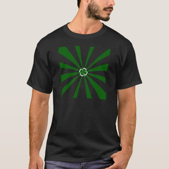 Irish Stripe Shamrock T-Shirt
