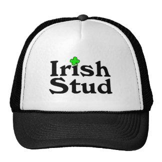 Irish Stud Clover Trucker Hat