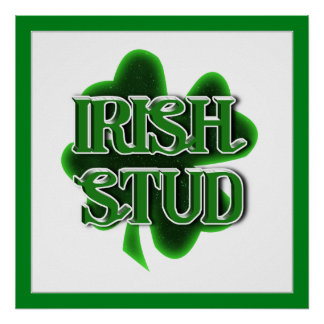 Irish Stud Print