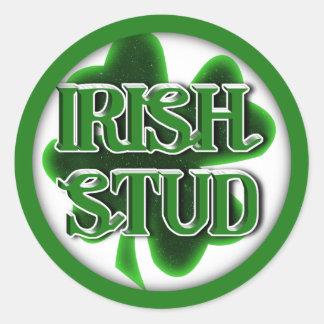 IRISH STUD STICKER