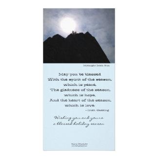 Irish Sun Holiday Greeting Card