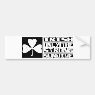 Irish Survive Car Bumper Sticker
