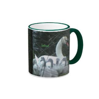 Irish Swan and Cygnets Mug