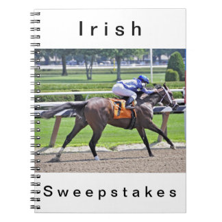 Irish Sweepstakes with Rajiv Maragh Notebook