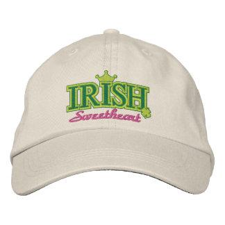 Irish Sweetheart Embroidered Baseball Cap