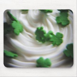 Irish Swirl Saint Patrick's Day Cupcake Frosting Mouse Pad