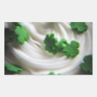 Irish Swirl Saint Patrick's Day Cupcake Frosting Stickers