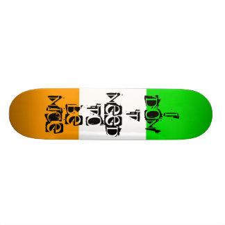 Irish Sympathy Skateboard