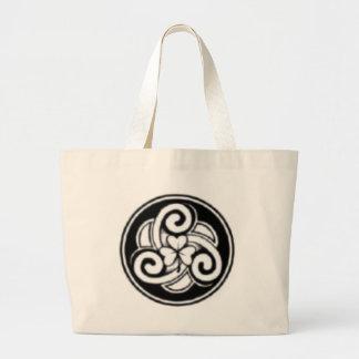 Irish Tattoo Tote Jumbo Tote Bag