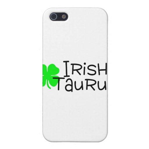 Irish Taurus with Clover iPhone 5 Case