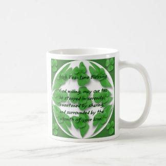 Irish Tea-Time blessing Coffee Mug
