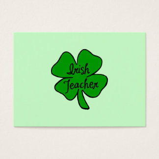 Irish Teacher Business Card