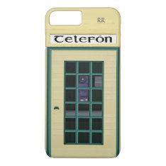 Irish Telephone Box Iphone 8 Plus/7 Plus Case at Zazzle
