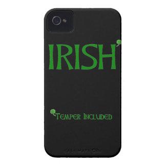 Irish Temper Included iPhone 4 Case-Mate Case