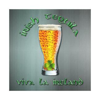 Irish Tequila - Viva la Ireland Canvas Print
