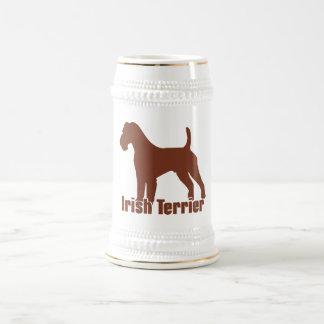 Irish Terrier Beer Stein
