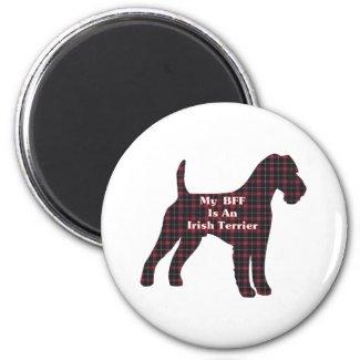 Irish-Terrier BFF Geschenke magnet