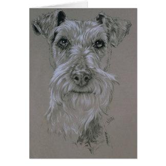 Irish Terrier Stationery Note Card