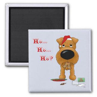 Irish Terrier Christmas Fridge Magnet