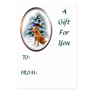 Irish Terrier Christmas Gifts Large Business Card