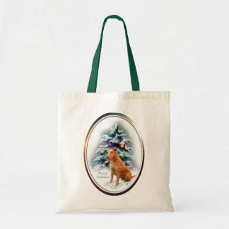 Irish Terrier Christmas Gifts Tote Bag