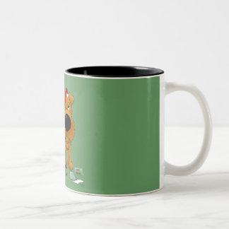Irish Terrier Christmas Mug