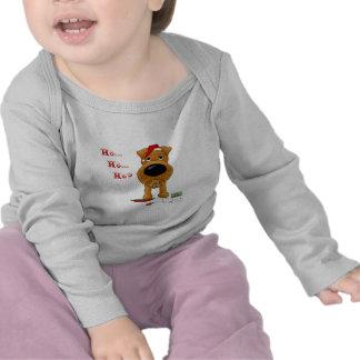 Irish Terrier Christmas T-shirt