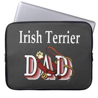 Irish Terrier Dad Computer Sleeve