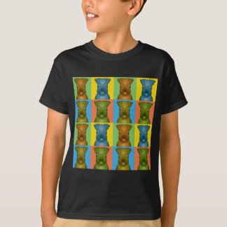 Irish Terrier Dog Cartoon Pop-Art T-Shirt