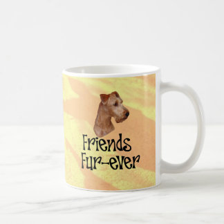 "Irish Terrier ""friends fur more ever "" Coffee Mug"