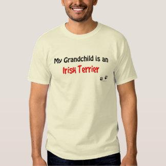 Irish Terrier Grandchild T Shirt