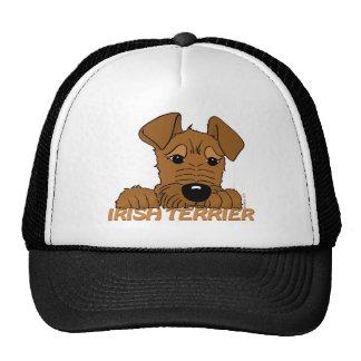 Irish Terrier head Cute Trucker Hat
