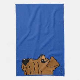 Irish Terrier head Towel