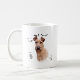 Irish-Terrier Geschichte Design mug