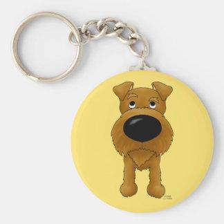 Irish Terrier Keychain