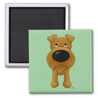 Irish-Terrier Magnet magnet