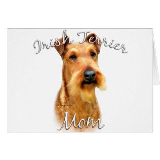 Irish Terrier Mom 2 Greeting Cards