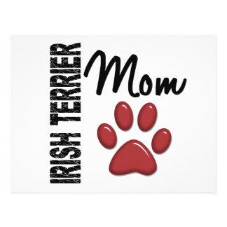 Irish Terrier Mom 2 Flyers