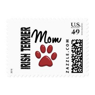 Irish Terrier Mom 2 Stamp