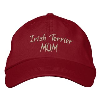 Irish Terrier Mom Geschenke embroideredhat